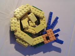 アンモナイト LEGO