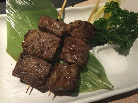 串燒一口和牛 - 將軍澳的瀛 ‧ 日式料理