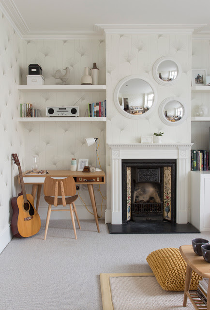 Edwardian House, South West London - Contemporary - Living ...