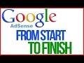 Google Adsence from start to finish 2021