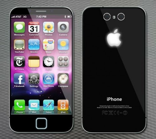 5 iPhone iphone 3d 500x446 5: A new concept of dream