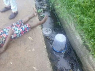 Girl Found Unconscious Inside Gutter In Delta State