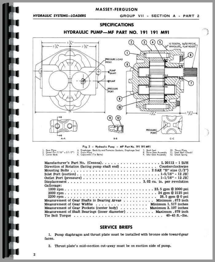 Massey Ferguson 165 Parts Diagram
