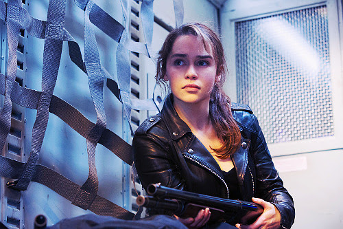 Emilia Clarke in Terminator Genisys - click to see more