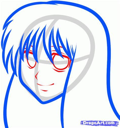 draw  anime girl  kids step  step people