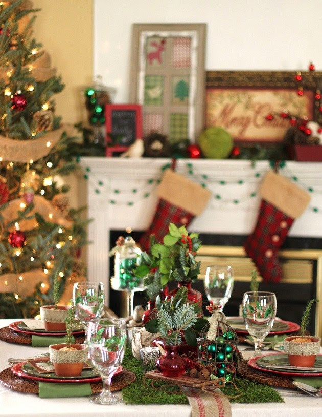 Entertaining Series – Rustic Woodland Christmas — Celebrations at Home
