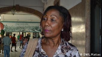 Carlota da Conceicao Mosambik (DW/L.Matias)