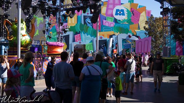 Disneyland Resort, Disney California Adventure, Monsters Inc