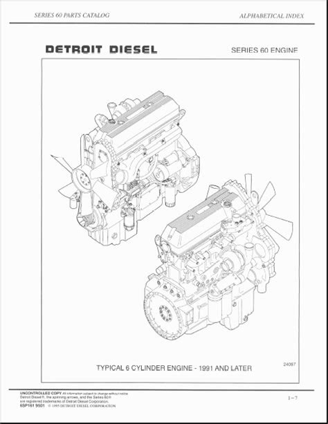 Detroit Diesel 60 Series Parts Catalog-in Code Readers