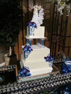 Blue Dendrobium Orchids Wedding Cakes   Flowers By Anne