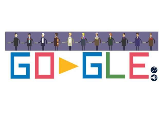 Doctor Who é homenageado em doodle do Google nos 50 anos da série Foto: Reprodução