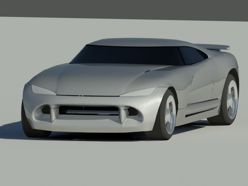 Dodge Viper Defender WIP by Rekkou on DeviantArt