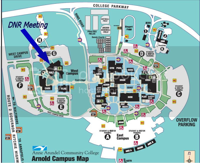 Anne Arundel Community College Map Maping Resources