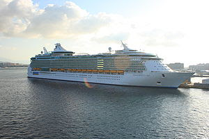 Royal Caribbean's Independence of the Seas in ...
