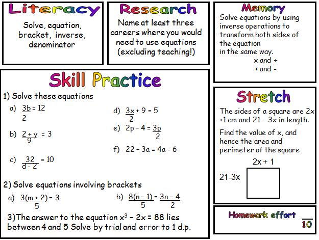Algebra Mathematics Pret Homeworks