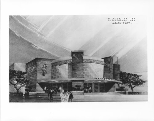 Disney Theatre concept drawing