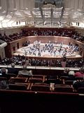 Chicago Symphony Orchestra, 02.15.2012 Davies Hall, before the appearance of Chicago Symphony Orchestra.