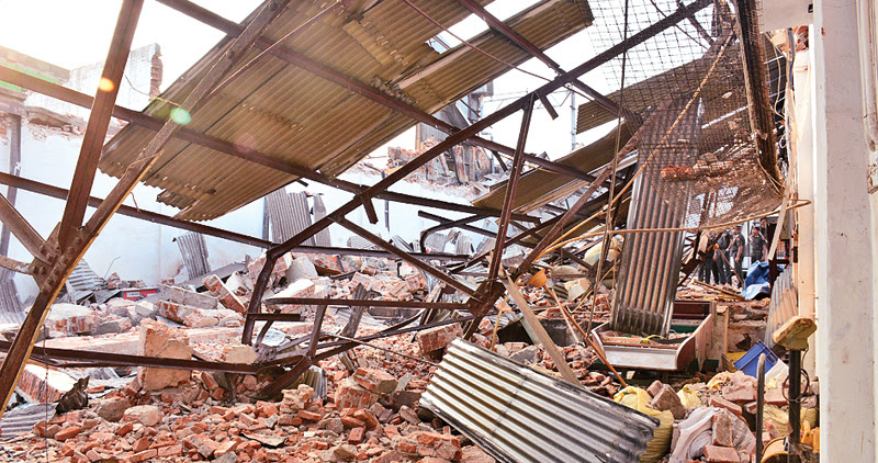 Report on Grandpass building collapse handed over soon