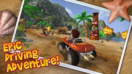 Beach Buggy Blitz, un juego de carreras de alto nivel gráfico para Android