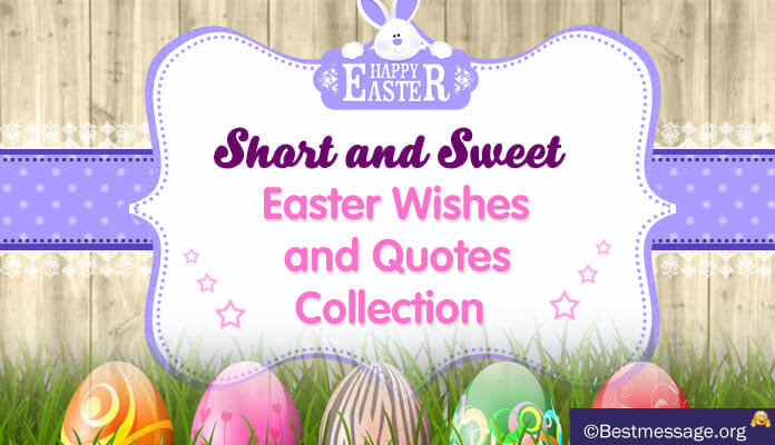 Happy Easter 2018: Short Easter Sunday Greetings Messages ...