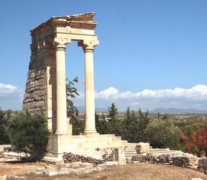 Ruinas de Apolo Hylates (Chipre)