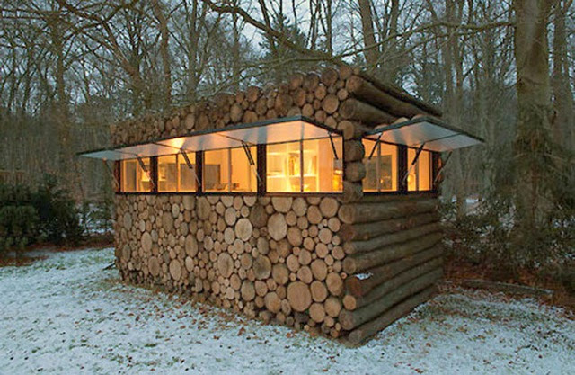 Clean and Cozy: Modern Log Cabins | Visual Remodeling Blog | Fixr