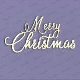 Tekturka - Merry Christmas III duże