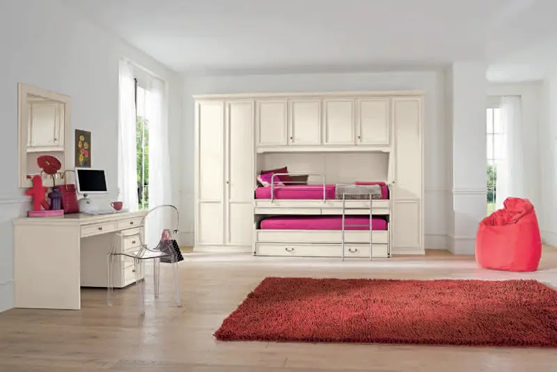 10 Classic Girls Room Design Ideas with Modern Touches   DigsDigs. Room Design For Girls   Simple Home Decoration
