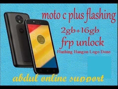 How to Moto C Plus XT 1721 Flashing
