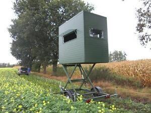 Munhunt Portable Hunting Blinds On Wheels