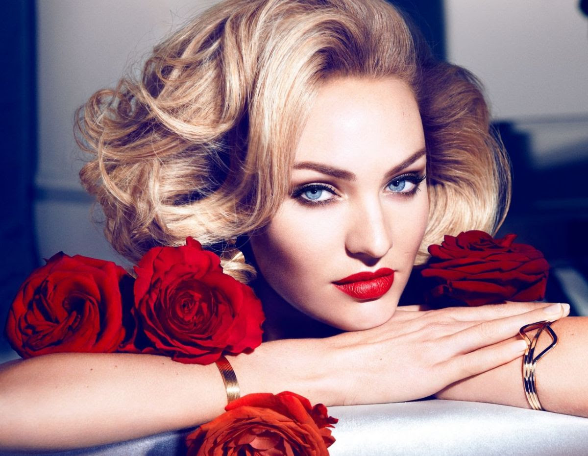 CANDICE SWANEPOEL fo Max Factor