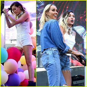 Miley & Noah Cyrus Sing ?Happy Birthday? to Their Mom at