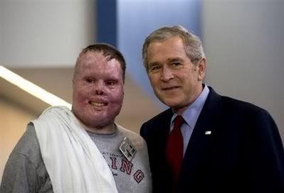 Bush still smiling