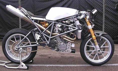 KTM 640 LC4 track bike