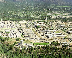 Los Alamos National Laboratory and the town of...