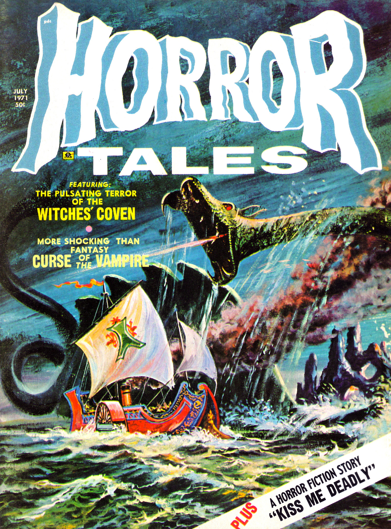 Horror Tales - Vol.3 #4 (Eerie Publications, 1971)