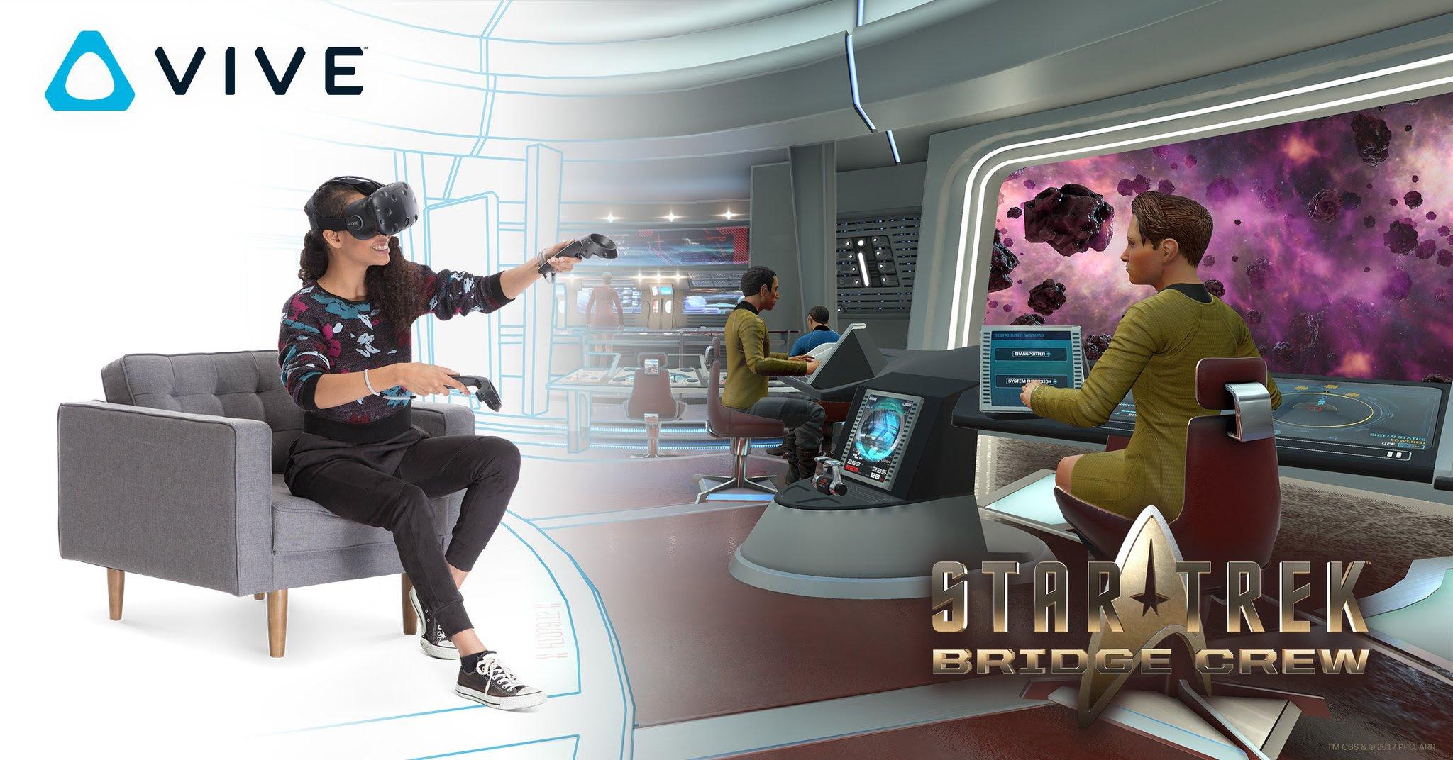 Star Trek: Bridge Crew now comes bundled with Vive headsets screenshot