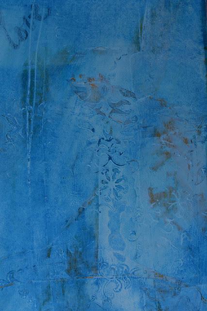 AJED_Blue Emb Wallpaper_Closeup