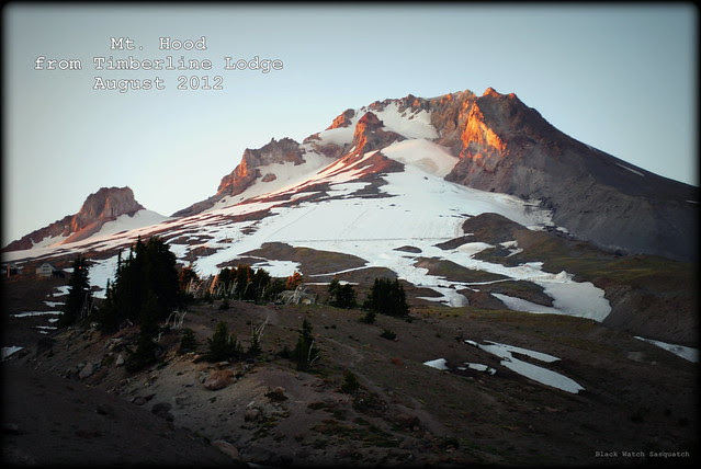 Mt Hood from Timberline Lodge August 2012