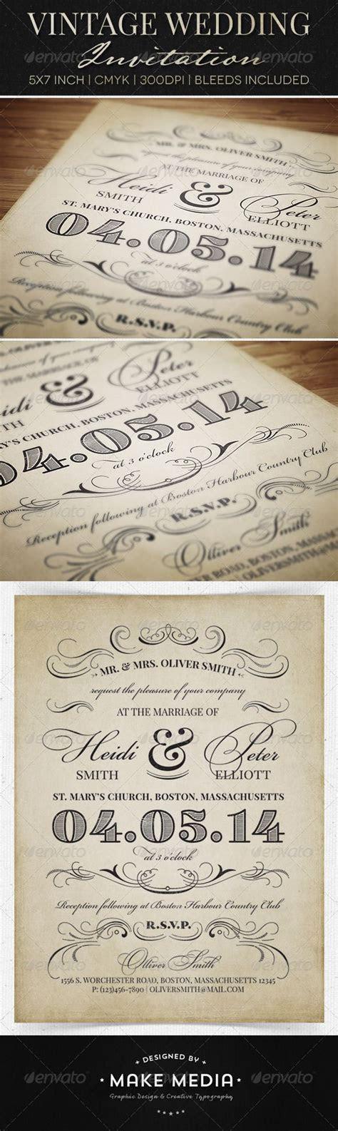 25  best ideas about Vintage wedding invitations on
