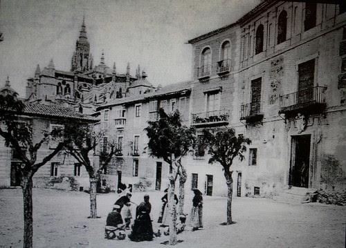 Plaza de San Justo (Toledo) antes de 1914