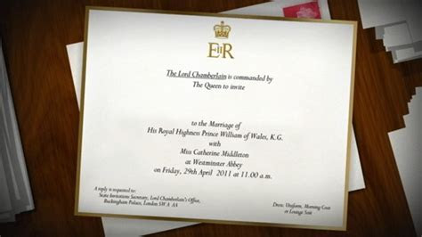 Details and Design of Prince William and Kate Middleton's