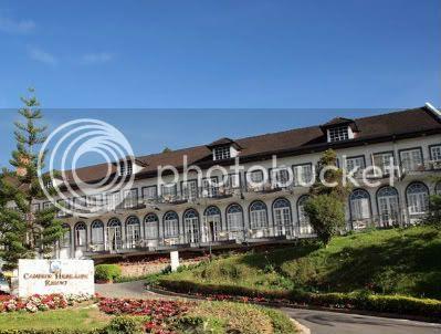 Cameron Highlands Resort facade 2