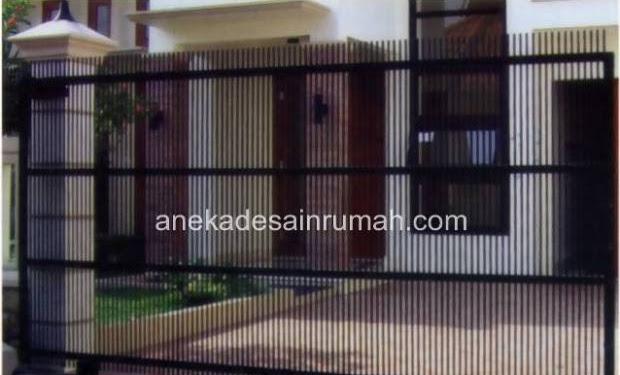 Kumpulan Gambar Pintu Gerbang Rumah Minimalis Modern