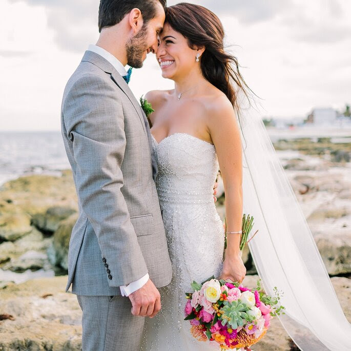 BETTER TOGETHER MEXICO DESTINATION WEDDING: Bridal Gown