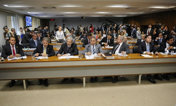 CPI mista também aprovou, em votação simbólica, um pedido de convocação do presidente licenciado da Transpetro, Sérgio Machado. / Foto: Jefferson Rudy/Agência Senado