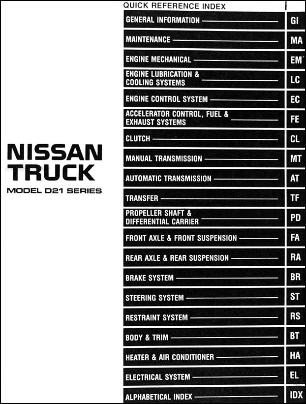 1996 Nissan Pathfinder Stereo Wiring Diagram
