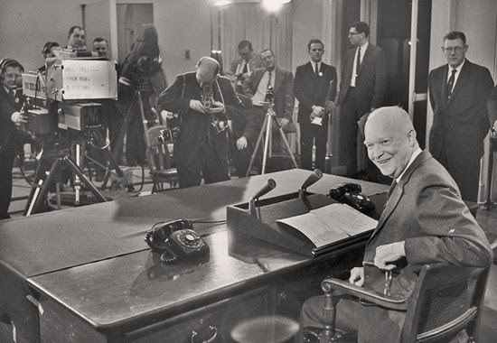 Farewell Address 1961 - DWIGHT D. EISENHOWER BROADCASTING FROM THE PRESIDENT'S OFFICE