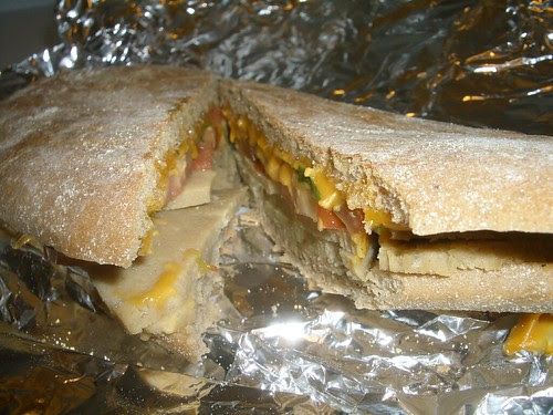 vegan panini from soy luck club