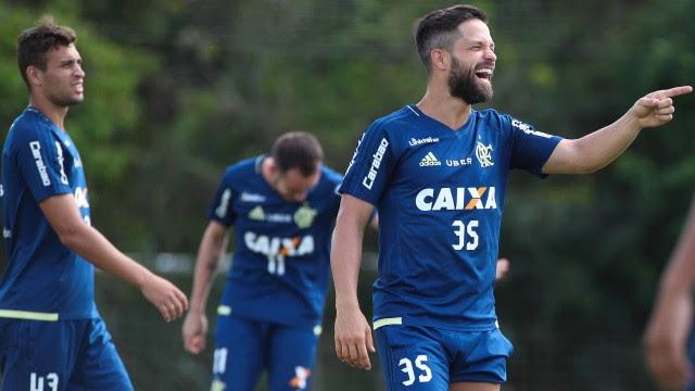 Meia Diego, do Flamengo, foi convocado por Tite